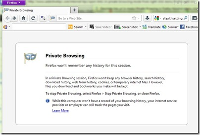 private-browsing