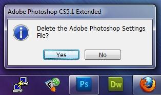 """Iš naujo nustatyti """"Photoshop"""" Settings"""