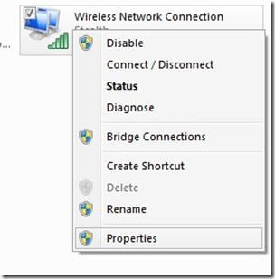 network-properties