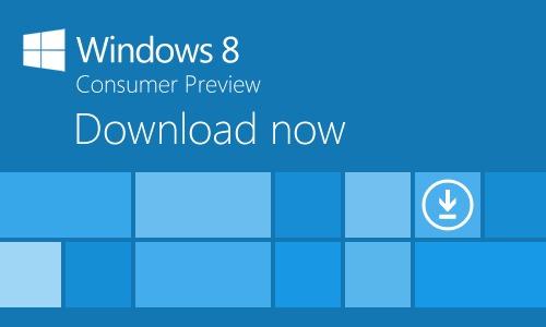 Windows-8 - 소비자 - 미리보기 - 다운로드