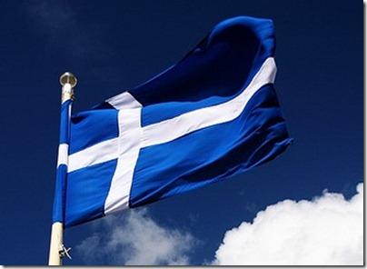 Shetland-bandeira