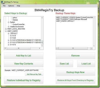 smaregistry app