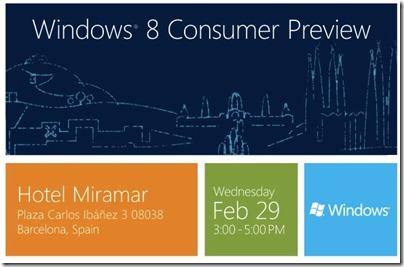 Windows 8-consumer-forhåndsvisning