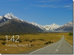 Win8LockScreen