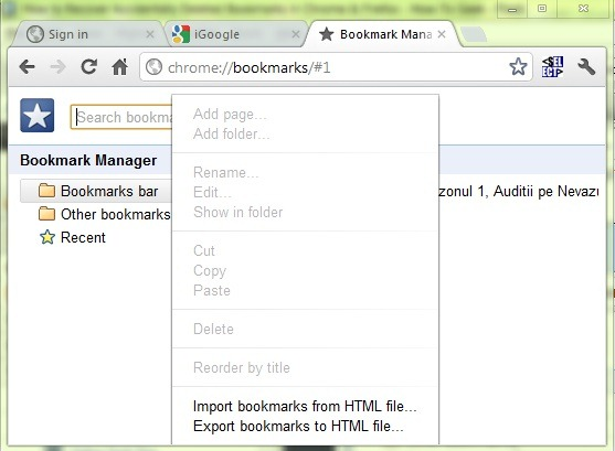 chroom-bookmarking