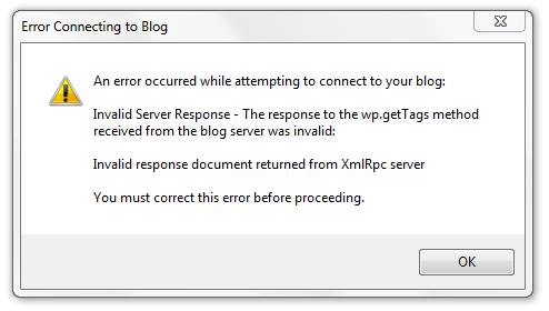 Error WLW Old VersionPNG