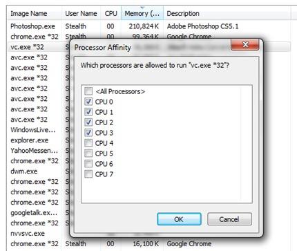 Ограничаване на CPU ядро