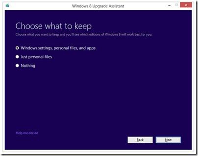 Nadogradnja za Windows-8
