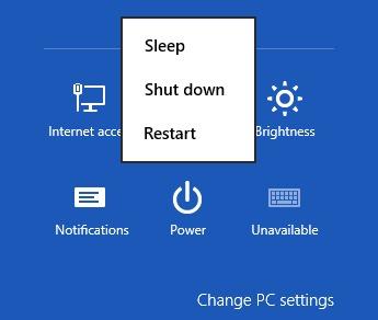 default-мощност-меню