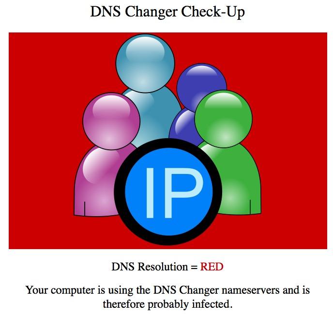 vírus trocador de DNS