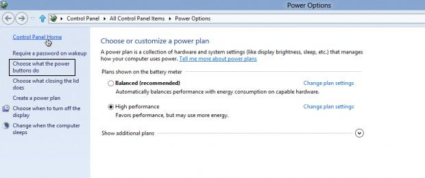 Мощност-settings