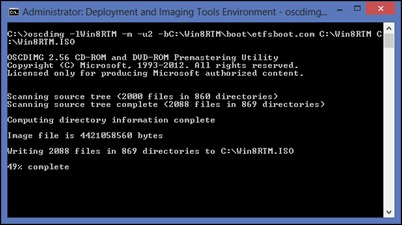 oscdimg-windows-ADK