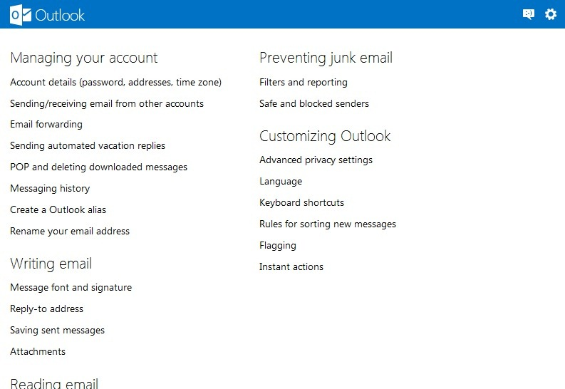outlook-options