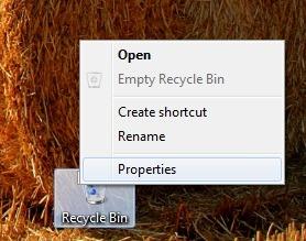 recycle-bin-propriétés