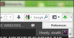 скрытый-Firefox
