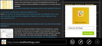 pin-web-to-home ekran