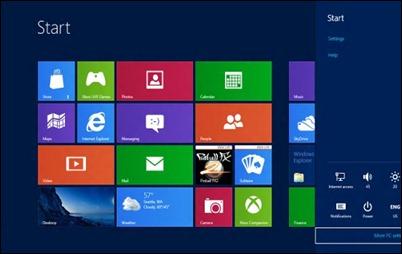 Klawisz Windows skróty 8-