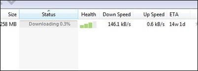 uTorrent usporeni preuzimanje