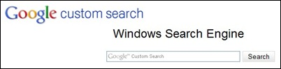 Custom-search-engine