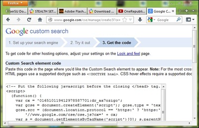 google-custom-otsingut