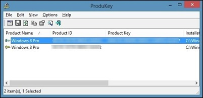 Recover Windows Product-Key-