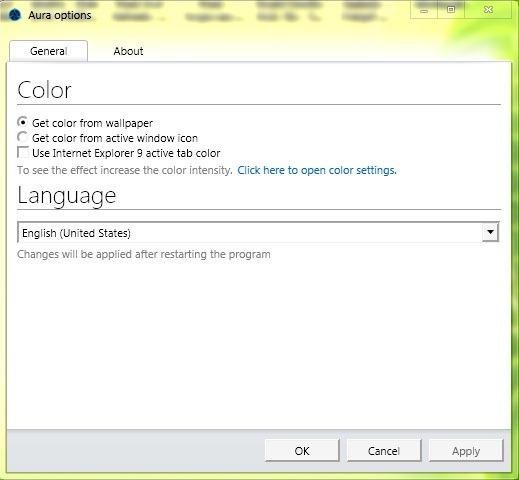 Fen tres 8 7 auto colorisation pour windows et windows for Fenetre 3d windows 7