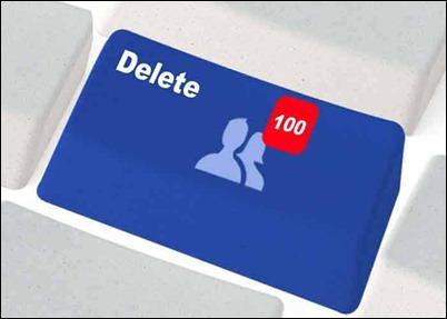 Удалить-много друзей-на-Facebook