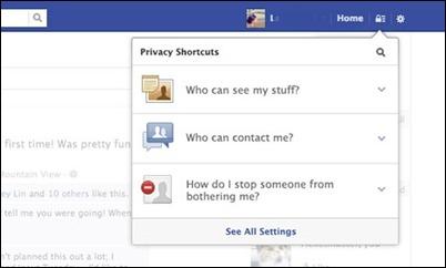 fbprivacy-configurações