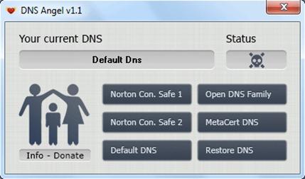 Ange DNS-default