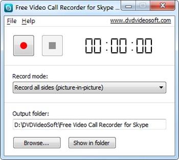 Skype Snemalnik