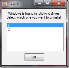 選擇-windows-要卸載