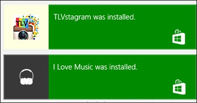 Windows 8-fhógraí