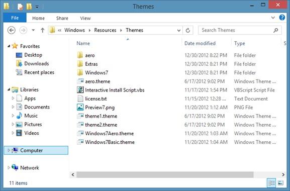 Download Aero Theme for Windows 8 - STEALTH SETTINGS