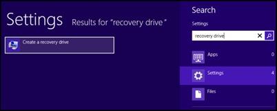 δημιουργούν ανάκτησης-drive