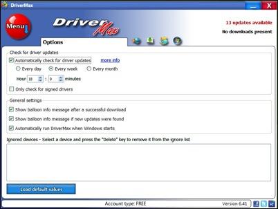 Drivemax variantai
