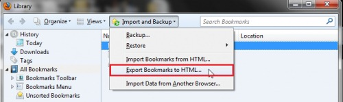 export-bookmarks