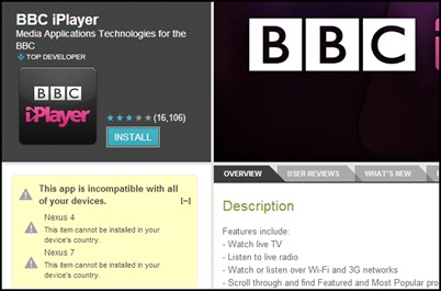 install-BBC-iplayer-app-väljaspool-uk