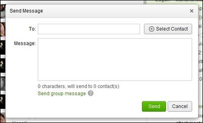 siųsti žinutę-