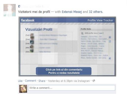 Ver perfil de facebook-