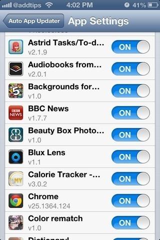 Auto-Updater-IOS App Apps