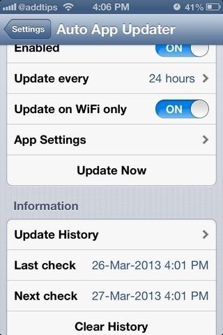 Auto-Updater-App-iOS-Settings