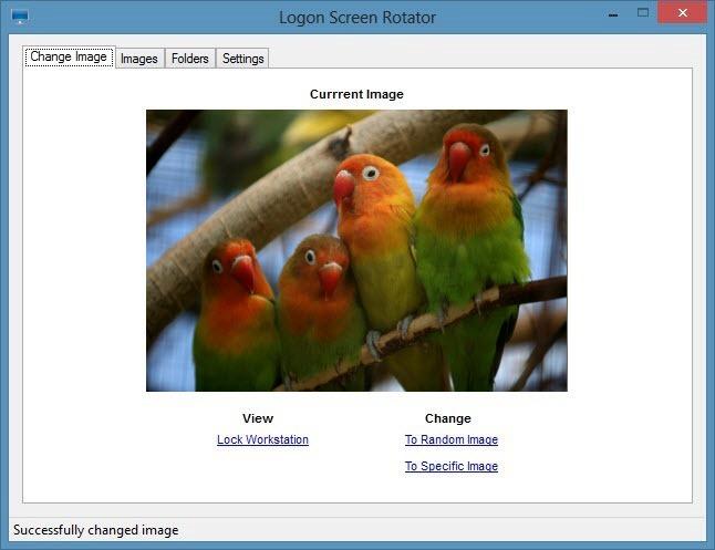 Logon Screen Rotator lucratif,Windows-8
