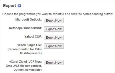 export-formaat