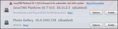 Java užblokuotas-Firefox