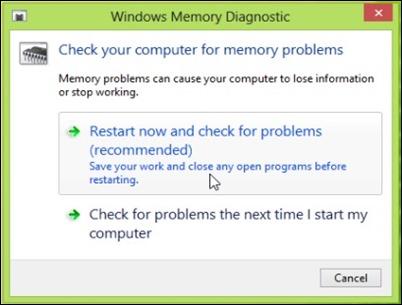 μνήμη-διαγνωστικό εργαλείο-