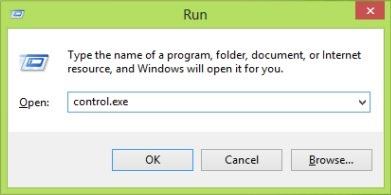 open-control-panel