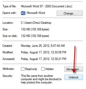 unblock-office-file