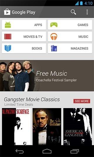 """Play-Google """"pagrindinis puslapis"""