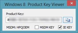 windows-8- 제품 키 뷰어