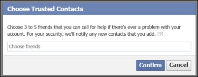 Confirm trusted-contacts